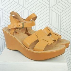 Shoes - Korks by Kork Ease Soft Leather Della wedge